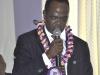 Dr. Shehu Usman Gidado, FCILT (Maritime Mode Rep. CILT Nig) giving a speech during the AGM