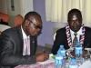 L-R- Mr. Paul Ndibe, FCILT (DD, Admin & Finance, CILT, Nig) & Dr. Usman Gidado, FCILT (Maritime Rep. CILT, Nig. Nat'l  Council)