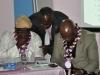L-R- Prof. Kayode Oyesiku, FCILT (Deputy President, CILT Nig), Mr. Paul Ndibe, FCILT (DD Admin & Finance, CILT Nig) & Dr. Ekwuribe Bob, FCILT (Vice Presedent East, CILT Nig) during the event