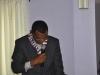 Mr. Moroof Ibikunle, FCILT (Air Mode Rep. CILT Nig) giving a speech during the event