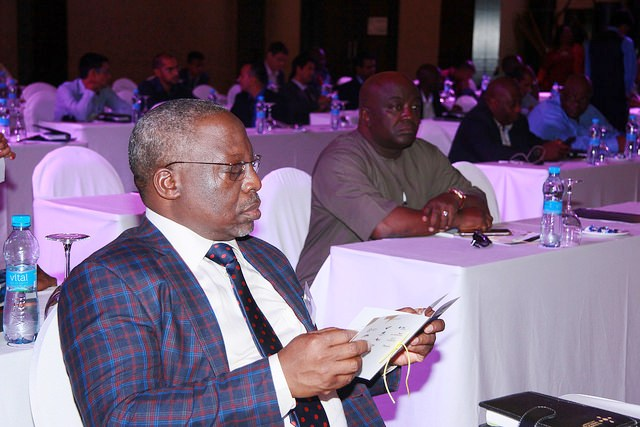 Int'l Vice President (Nigeria), Mr. Jibril A. Ibrahim & other delegates during the event