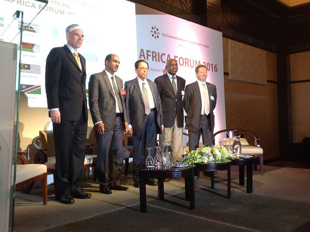 Prime Minister of the Republic of Mauritius, Sir Anerood Jugnauth at Africa Forum 2016