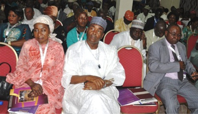 Cross section of delegates