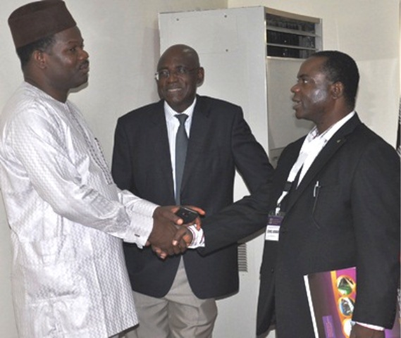 Dr. Ade Dosumu , MON (Chairman, Election Committee) & fmr National President, Maj Gen UT Usman (Rtd) & Dr. Desmond
