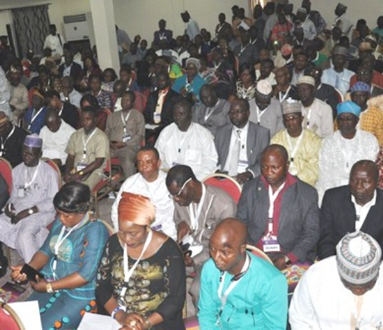Members getting set to cast their vote at the 2016 AGM of CILT, Nigeria.