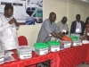 The Election Committee Chairman, Dr. Ade Dosunmu, FCILT, addressing members before the commencement of the National Council Election