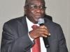 The fmr Deputy National President, Prof. Kayode Oyesiku delivering his manifesto before the election