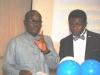 L-R- Mr. Paul Ndibe (Ag NED, CILT, Nig) & the MC during the FCMF
