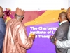 hon-minister-of-transport-unveiling-the-new-cilt-logo-flanked-by-the-perm-sec-fmot-hon-comm-of-transport-lasg-cilt-national-president