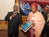 Presentation of Corporate Membership plaque to Nigerian Maritime Admin & Safety Agency (NIMASA)