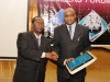 Presentation of Corporate Membership plaque to Nigerian Railway Corporation