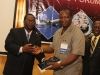 Presentation of Corporate Membership plaque to Transport & Logistics Nig Ltd