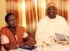 R- Miss. A. Sonaike (GM, Western Ports, NPA) with Mr. Ibrahim Jibril (VP-West, CILTN)
