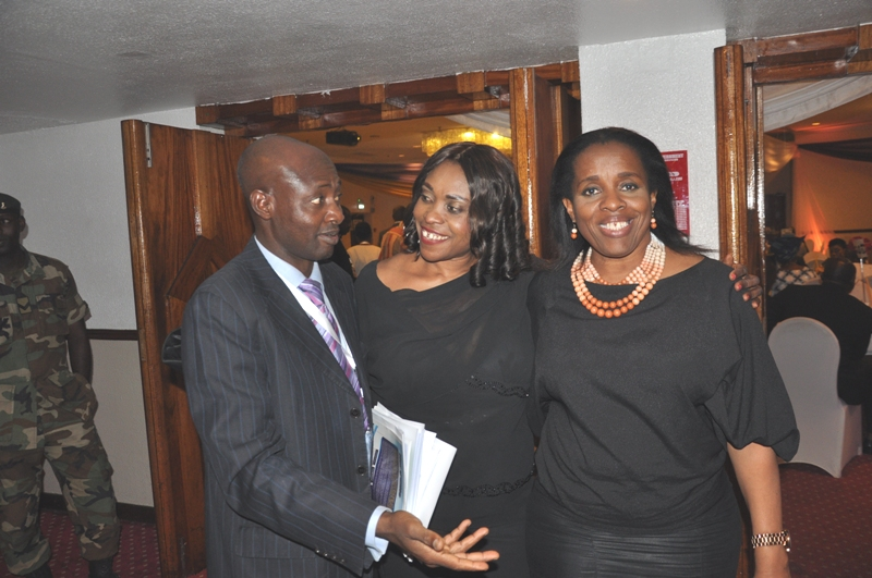 Chairperson, PRBSC of CILTN, Mrs. Affiong Ibanga (middle) with some members of the committee