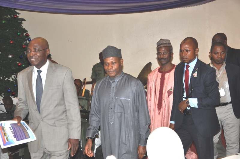 Maj Gen UT Usman (Rtd), FCILT, National President, CILT Nigeria & IVP for Africa & some of d invited guests
