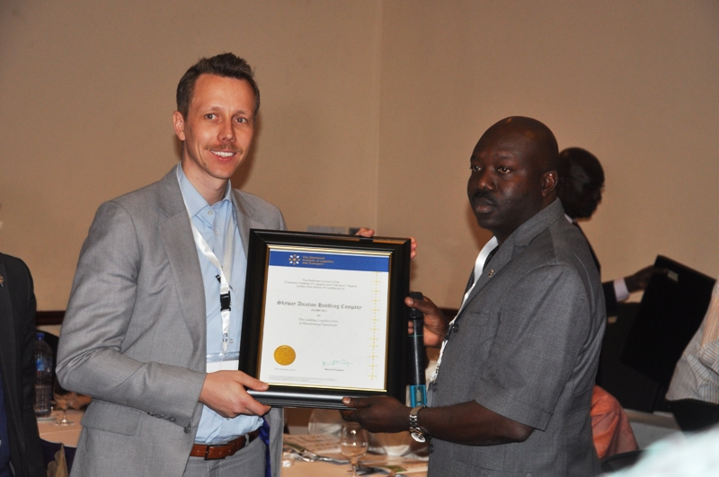 Presentation of Award to SAHCOL