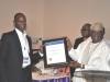 Chairman of Event, Chief Adebayo Sarumi, FCILT, OFR presenting an award to Lagos Deep Offshore Logistics Base