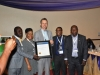 Delegates from SAHCOL after the presentation of award