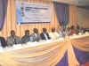 Dignitaries @ the high table