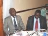 Maj Gen UT Usman (Rtd), FCILT, National President, CILT Nigeria & IVP for Africa & Prof. Kayode Oyesiku, FCILT, Deputy National President of CILT, Nig