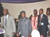 Maj Gen UT Usman (Rtd), FCILT, National President, CILT Nigeria & IVP for Africa & some of d invited guests