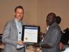 Presentation of Award to SAHCOL