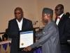 Presentation of award to Olabisi Onabanjo University