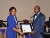 Presentation of award to Transport Service Limited (TSL)