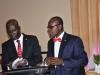 R-L- Mr. Paul Ndibe, FCILT (Deputy Director, Admin & Fin, CILTN) & the MC during the event